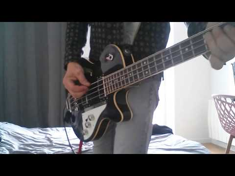 The Cure / A NIGHT Like This live in Orange bass cover