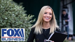 Kayleigh McEnany holds a press briefing