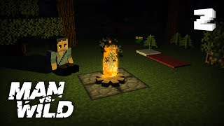 Le feu de camp de Bear Grylls (fonctionnel) - Minecraft tutoriel