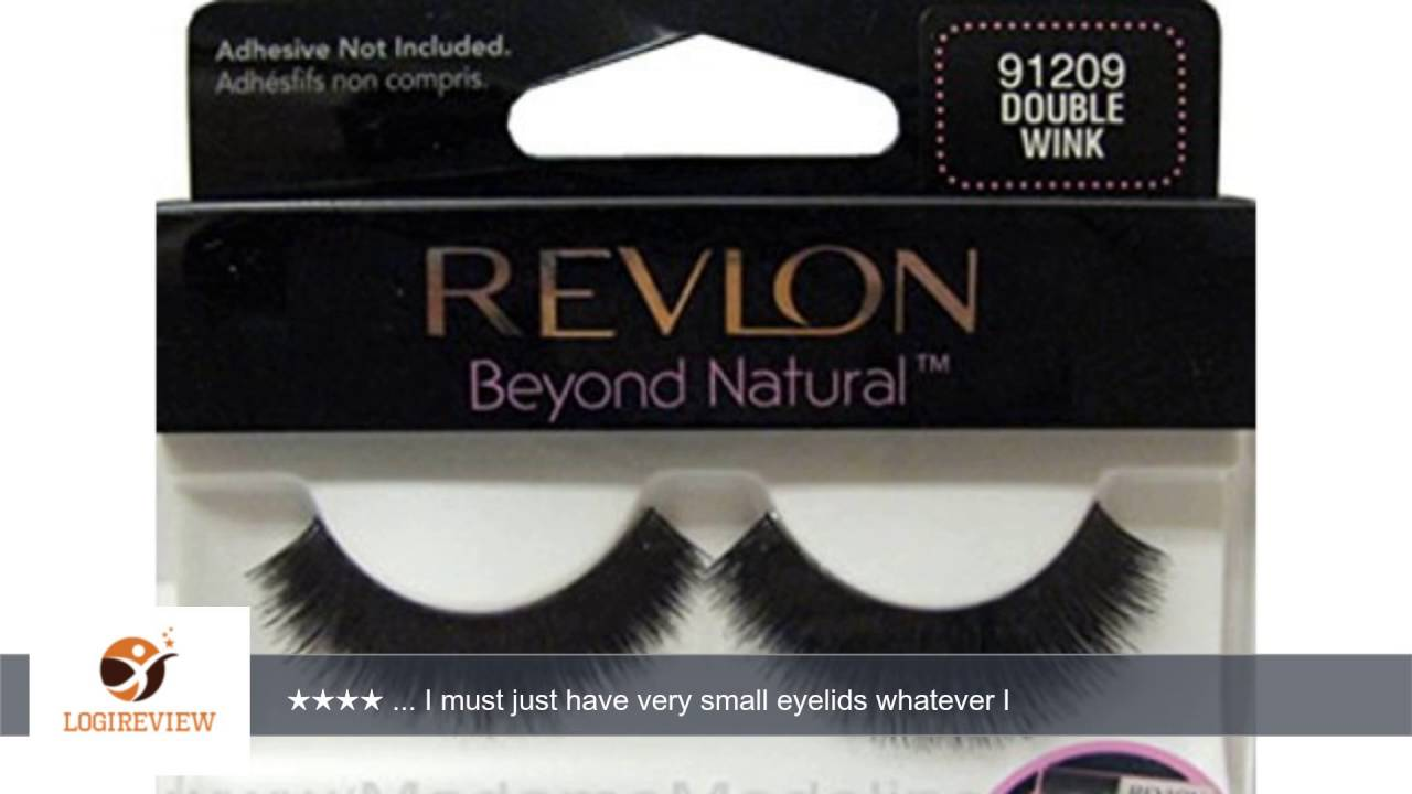 Revlon Beyond Natural Lashes 91209 Double Wink 2 Pack Review