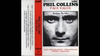 PHIL COLLINS - FACE VALUE (1981) CASSETTE FULL ALBUM