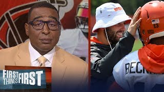Are Baker and OBJ already the best QB-WR duo in the league? | NFL | FIRST THINGS FIRST