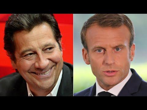 Laurent Gerra imitant Emmanuel Macron : \