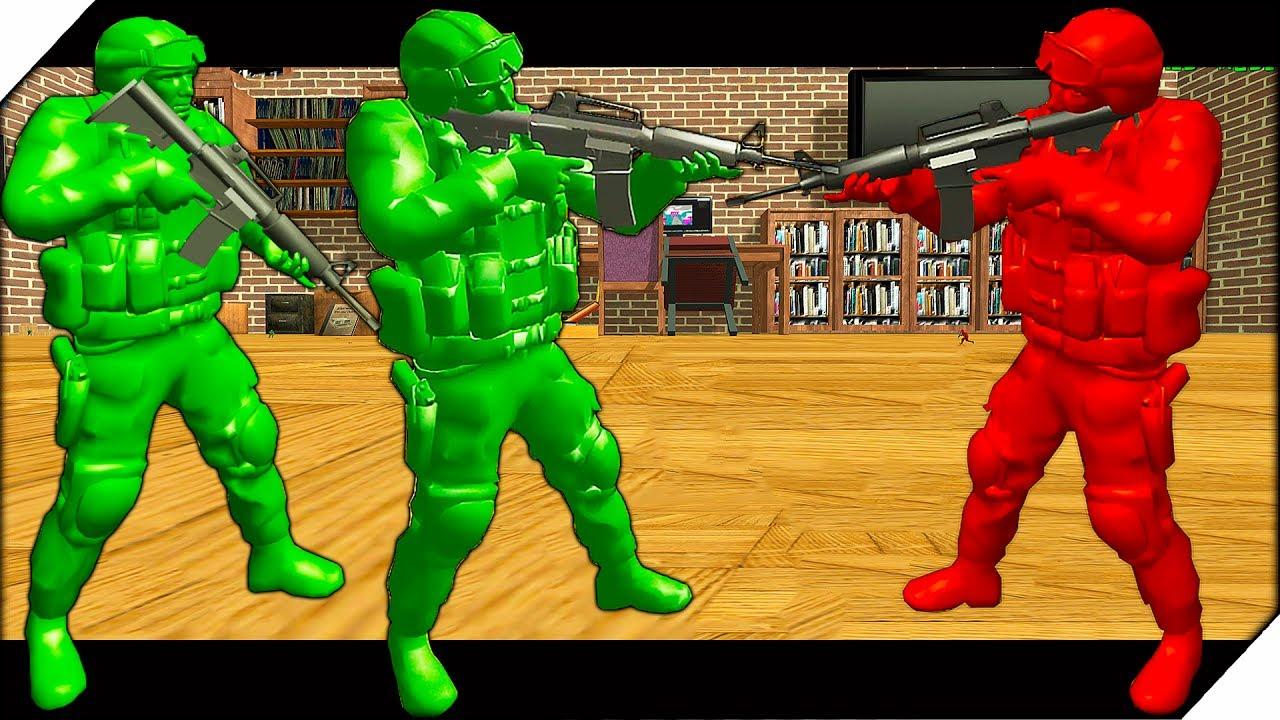 Симуляторы Игровых Автоматов Вулкан | БИТВА ИГРУШЕЧНЫХ СОЛДАТ В КОМНАТЕ - War Of Toys