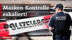 Polizei im Supermarkt attackiert | WDR Aktuelle Stunde