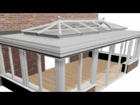 Conservatec Orangery Roof System Youtube