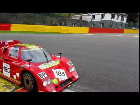 Sthemo SC-01 Group C car at 2016 Spa Classic