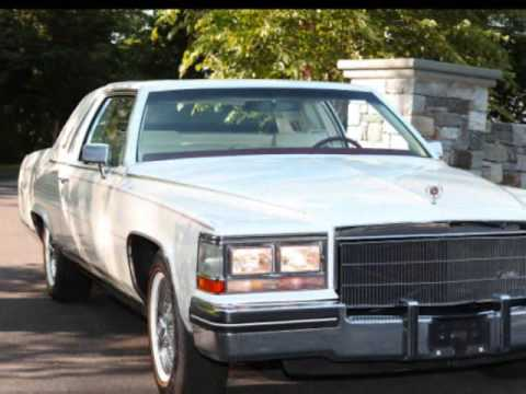 1985 Cadillac Fleetwood Brougham Coupe5K original miles  YouTube