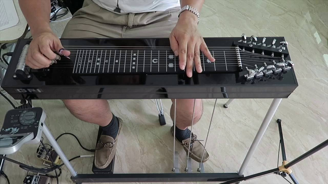 The Rolling Stones   Torn and Frayed   how to play the pedal steel solo by  Al Perkins