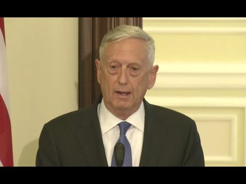 Mattis Disses Russia In Ukraine Visit- Full News Conference With President Poroshenko