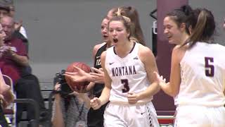 Lady Griz vs Idaho Highlights