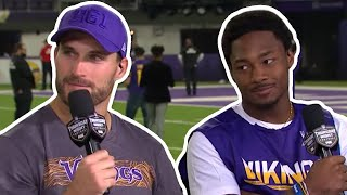 Stefon Diggs On Close Victory,