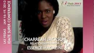 Charreah Jackson from Essence Magazine on the iDate Superconference Dating Industry Debate