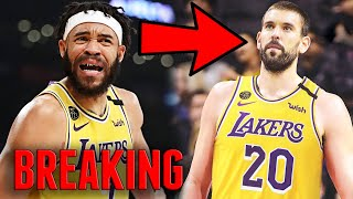 BREAKING: LOS ANGELES LAKERS TRADE JAVALE MCGEE & SIGN MARC GASOL IN 2020 NBA FREE AGENCY!