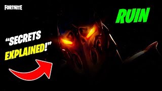 *NEW* Fortnite RUIN IS COMING... EXPLAINED SECRETS! + NEW EVENT? LAVA BOSS? THANOS 2.0?