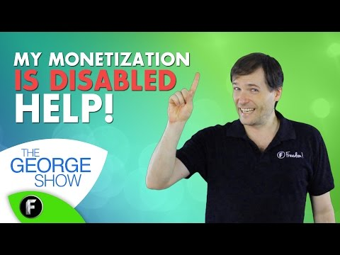 ★ My monetization is disabled! - Why?
