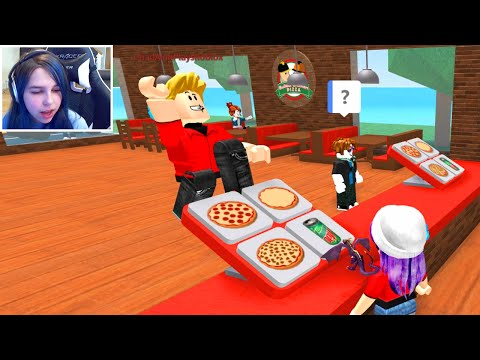 ROBLOX WORK AT A PIZZA PLACE   RADIOJH GAMES & GAMER CHAD   FACECAM
