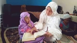 Anak kecil baca al quran