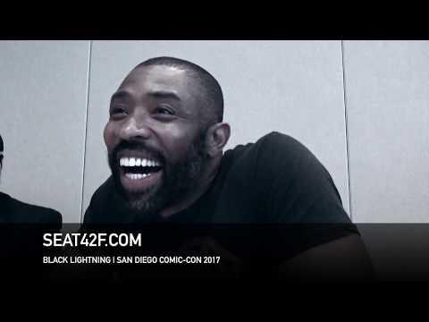 Cress Williams BLACK LIGHTNING  Comic Con HD