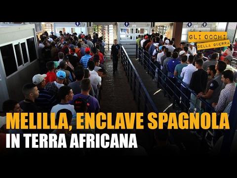 Melilla, enclave spagnola in terra africana