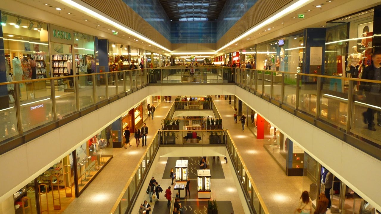 Shopping Mall Galeria Krakowska Krakow Poland Youtube