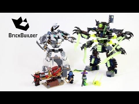 Lego Ninjago 70737 Titan Mech Battle Lego Speed Build Youtube