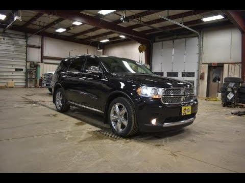 2013 Brilliant Black Dodge Durango Citadel AWD DT6796A Motor Inn Auto Group