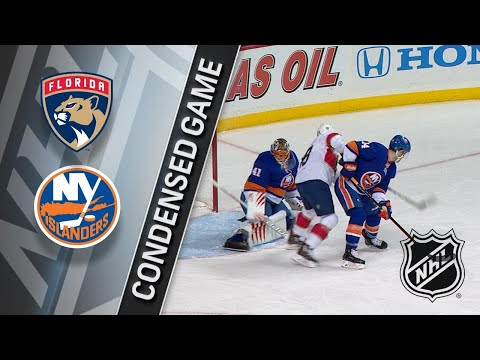 01/30/18 Condensed Game: Panthers @ Islanders