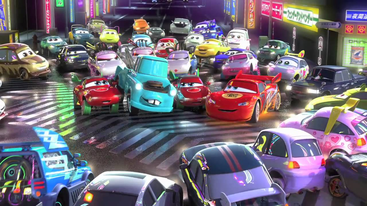 Pixar Cars: Mater's Tall Tales Collection