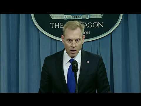 Deputy Defense Secretary Patrick M. Shanahan Opening Remarks at Pentagon NPR Rollout Press Briefing