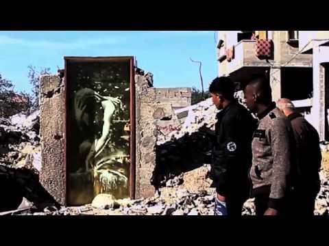 Banksy in Gaza: The Gaza Strip.