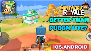 Mini World Royale Gameplay (Android, iOS) - Part 1 screenshot 1