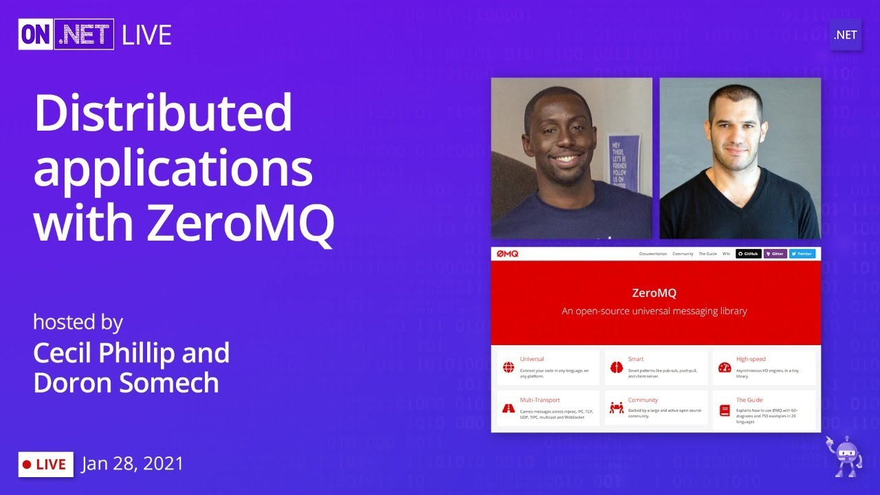 Distributed Applications with ZeroMQ
