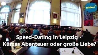Bild & Ton - Speed-Dating in Leipzig: Kurzes Abenteuer oder große Liebe?