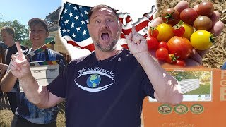 New Food Gardening Series USA Trip & Wicking Bed VLOG