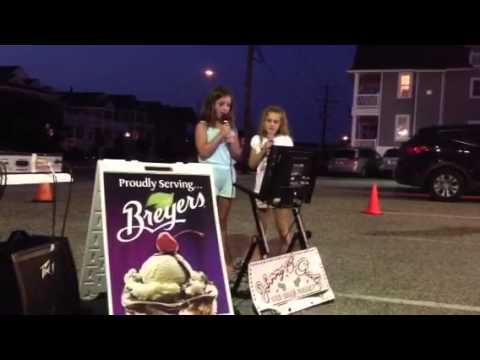 Mia & Haley Karaoke 8.20.13