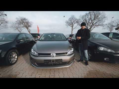 Осмотр Volkswagen Golf в хорошей комплектации, но не купили(