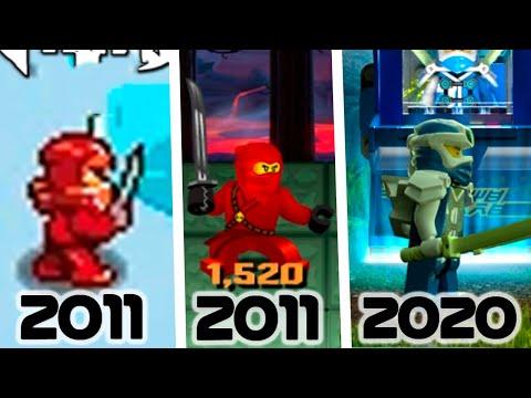 ЭВОЛЮЦИЯ ИГР LEGO NINJAGO! ВСЕ ИГРЫ НИНДЗЯГО 2011-2020! (Lego News-354)