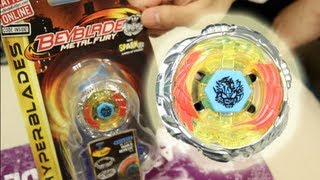 Diablo Nemesis X:D HYPERBLADE SPARK FX UNBOXING & REVIEW - (BB-122-FX) Beyblade Metal Fury Hasbro