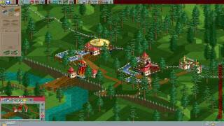 Rollercoaster Tycoon [190] - Rainbow Valley 1/14