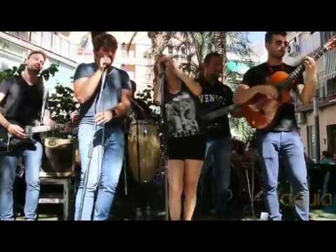 Concierto Sin Propiedad en Plaza Santa Barbara Ruta de la Tapa Molina 2016