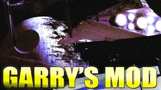Gmod STAR WARS SPACE BATTLE Mod Map! (Garry's Mod)