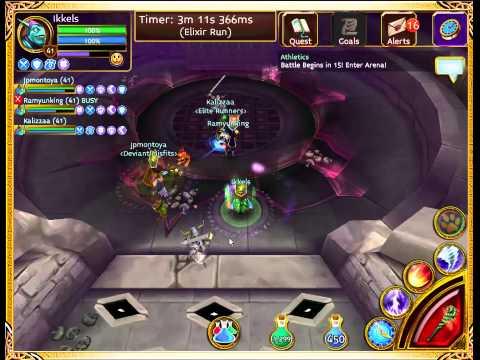 Arcane Legends - Planar Arena (Captain Rutger Glob Mother Frostir)