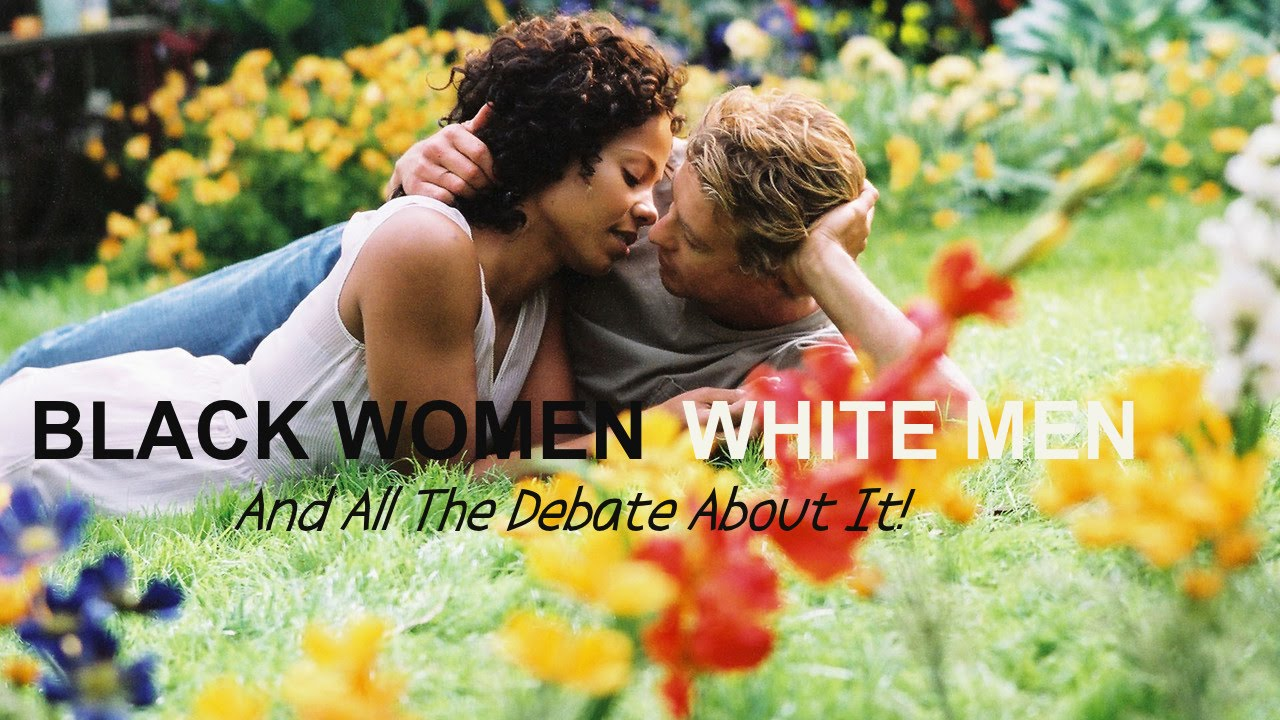 white man and woman
