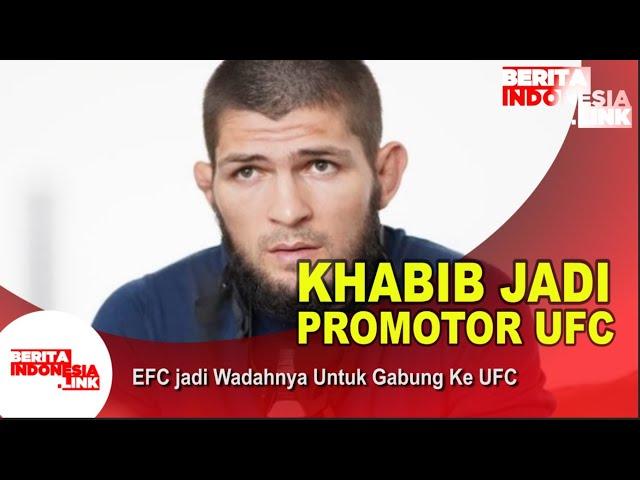 Khabib Jadi Promotor UFC