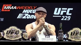 Conor McGregor: 'I May Want to Spark Khabib and Headline Madison Square Garden' (UFC 229)