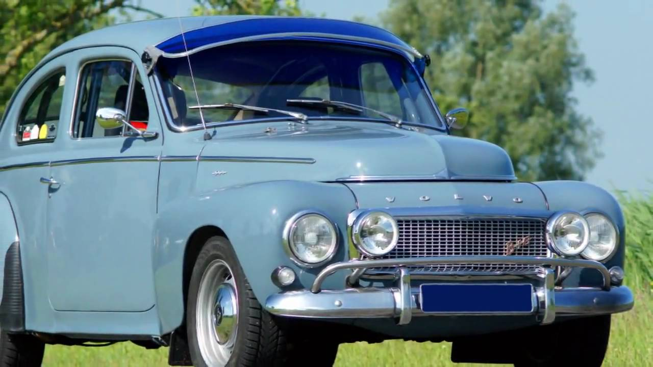 1964 Volvo PV 544 rally car - YouTube