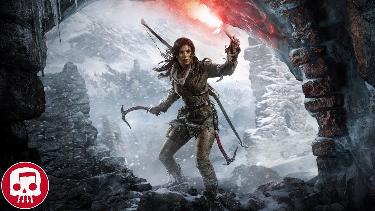 """TOMB RAIDER RAP by JT Music (feat. Andrea Storm Kaden) - """"On The Rise"""""""
