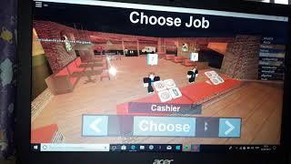 Primeira gameplay de ROBLOX / s.o.s debb