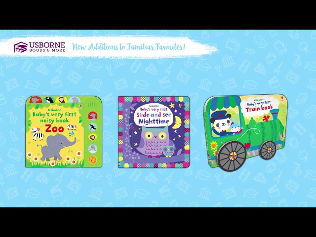 Fall 2018 New Titles-Familiar Favorites From Usborne Books & More!